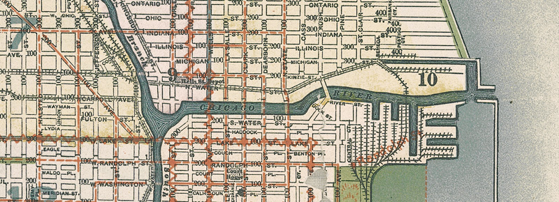 Chicago in the 1890s on