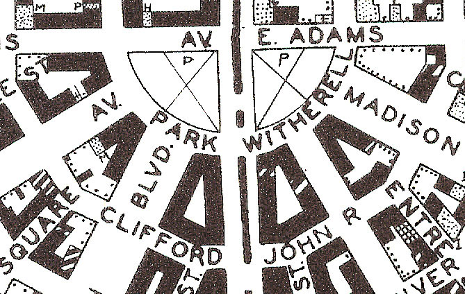 Planning Maps of Midwestern Cities in the 1920s and 1930s