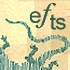 EFTS logo with lizard