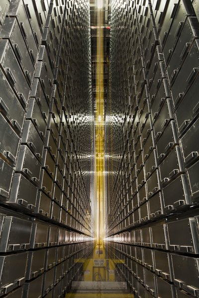 Mansueto Library Automated Storage and Retrieval System