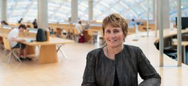 Brenda L. Johnson, Library Director and University Librarian. (Photo by John Zich)