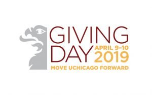 Giving Day, April 9-10, 2019 - Move UChicago Forward