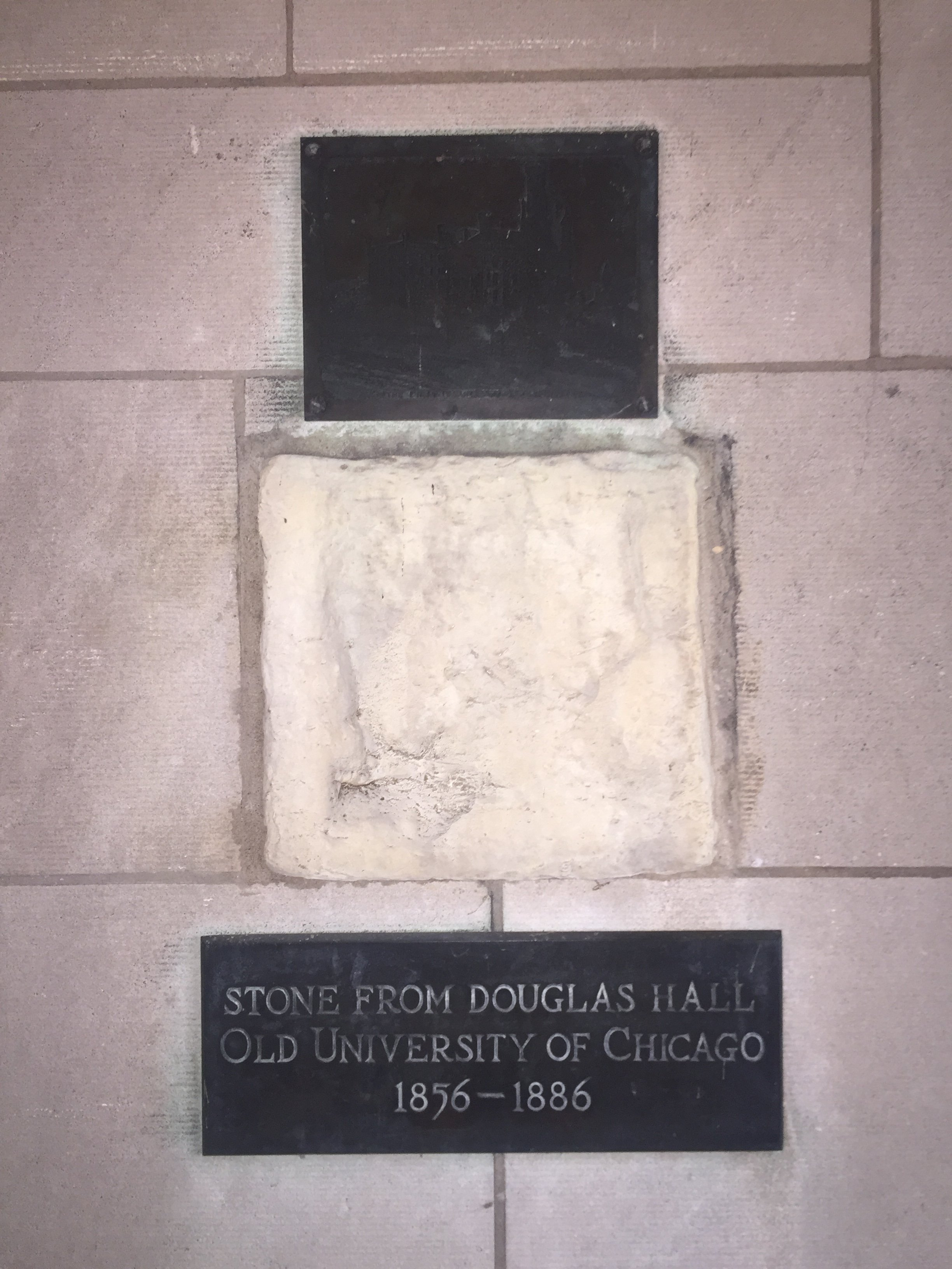 Stone from Douglas Hall