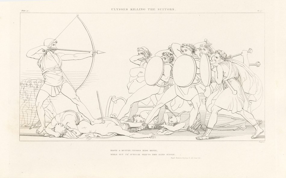 Illustration from Flaxman