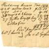 Tax Receipt, 1819