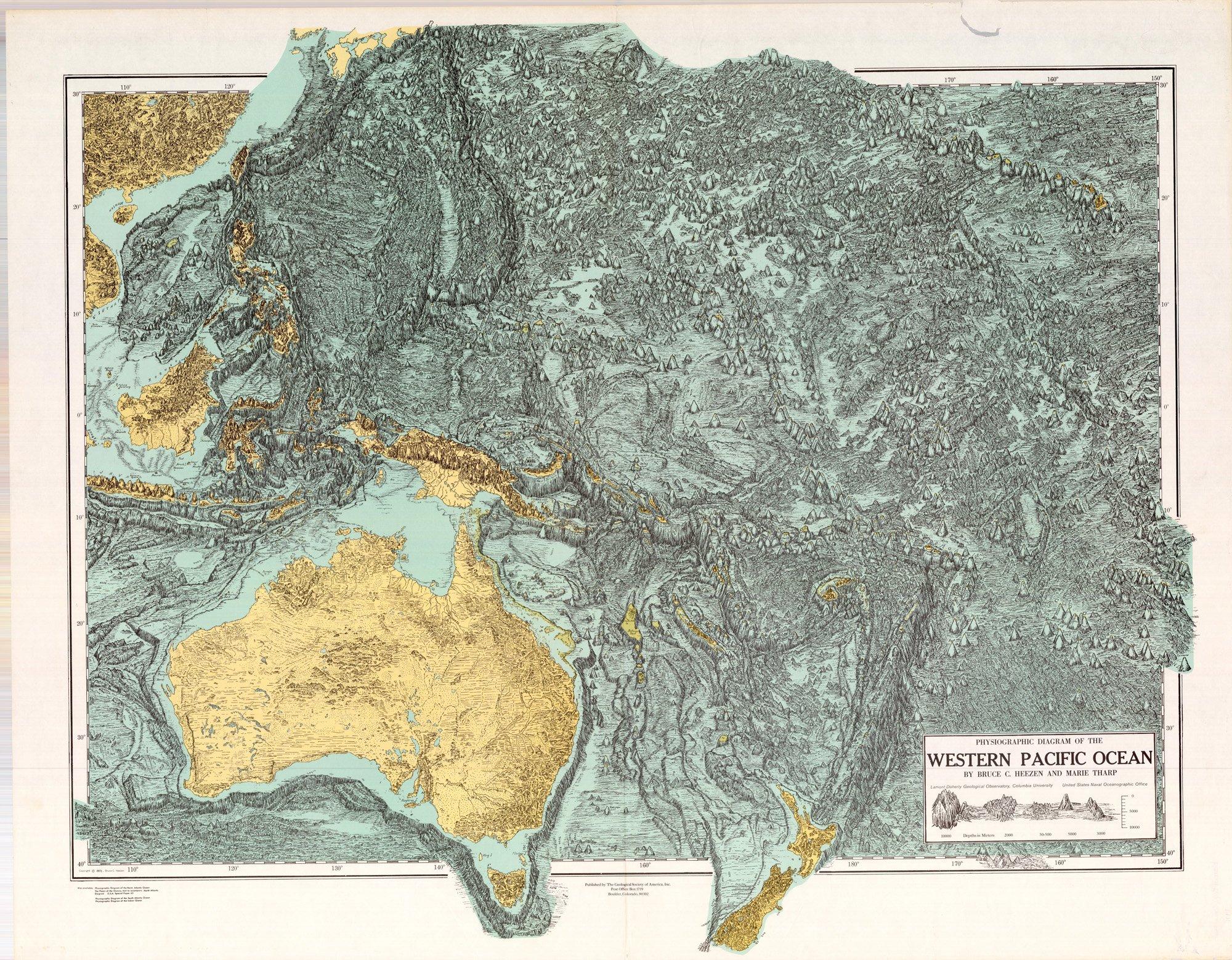 Marie Tharp Pioneering Oceanographer Marie Tharp The