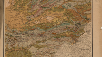 Geologic Map of Central Asia
