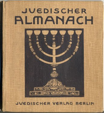 The front cover of a book depicting a menorah.