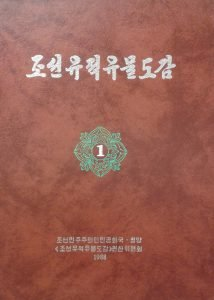 Red cover image of 조선 유적유물도감 / Joseon Dynasty Ruins & Relics Illustrated Book