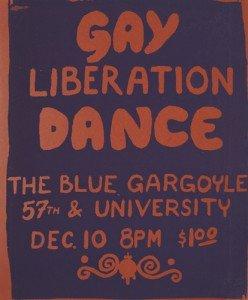 Gay Liberation Dance poster