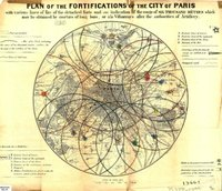 Plan of the Fortifications of the City of Paris ... 1848?