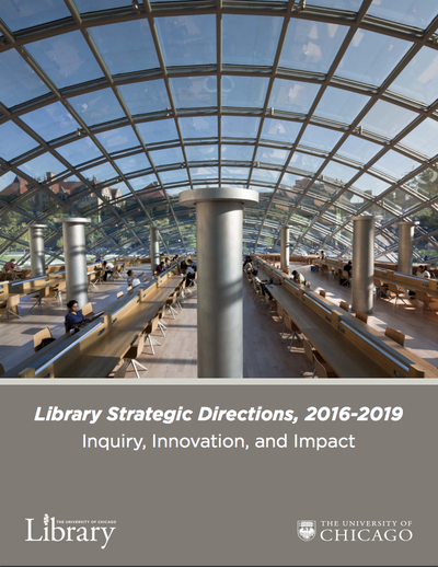 Library Strategic Directions, 2016-2019