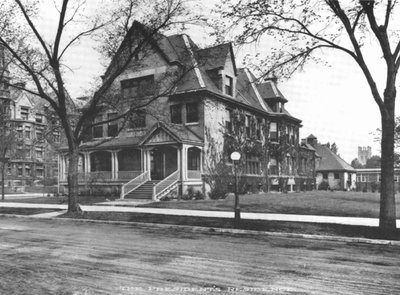 Photograph of the University of Chicago's President's House