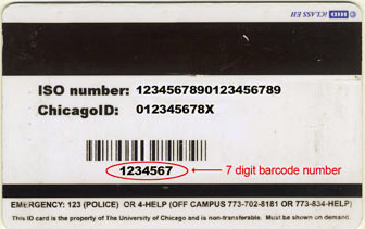 Library Cards Pins Contact Information The University Of Chicago Library