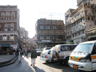 The Old City of San'a, Yemen