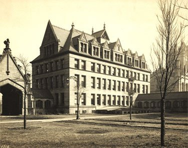 Zoology Building circa 1902