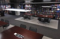 D'Angelo Law Book Stacks Center Tables