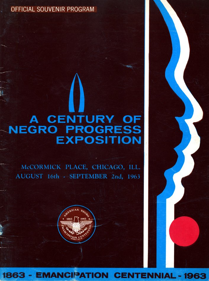 Cover design by Winslow for the American Negro Emancipation Centennial Authority