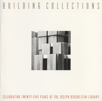 Building Collections Exhibit Catalog Cover