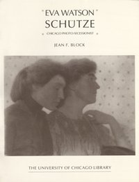 Eva Watson Schutze Exhibition Catalog Cover