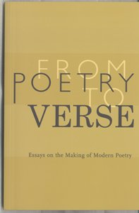 From Poetry to Verse