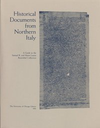 Historical Documents from Northern Italy