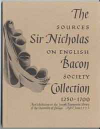 Sir Nicholas Bacon Collection