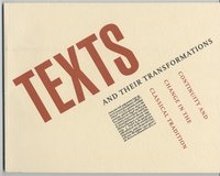Texts and their Transformations