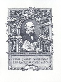 John Crerar Library Bookplate