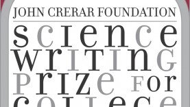 John Crerar Foundation Science Writing Prize for College Students