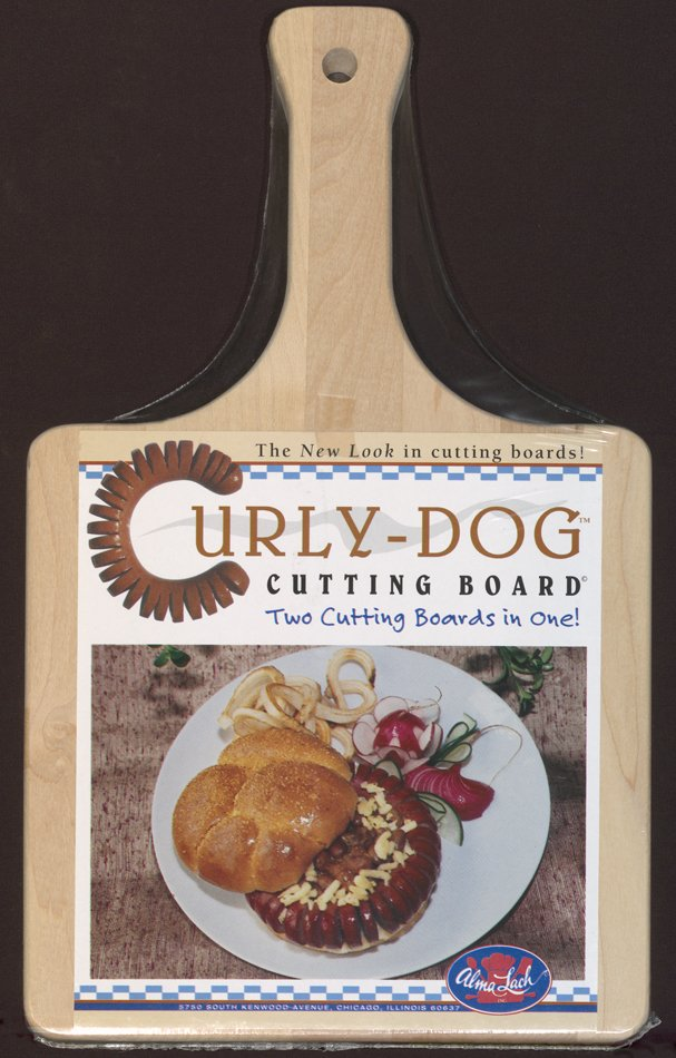 Curly-dog Cutting Board, 1985