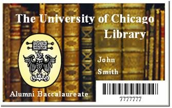 The library barcode is on the front of older Library cards.
