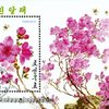 Stamp depicting rhododendron