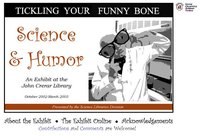 Tickling Your Funny Bone: Science and Humor